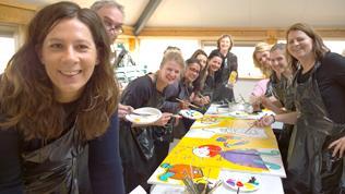Creatieve Schilderworkshops In Den Haag Als Gezellig Uitje